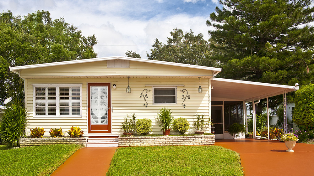 Mobile home in Panama city florida